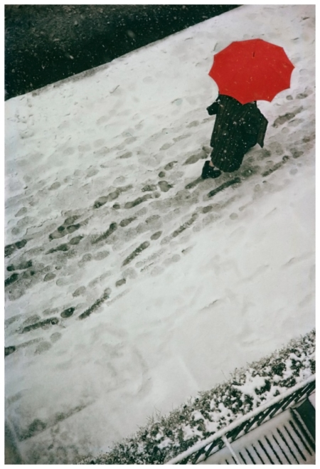 Saul Leiter Footprints 1950