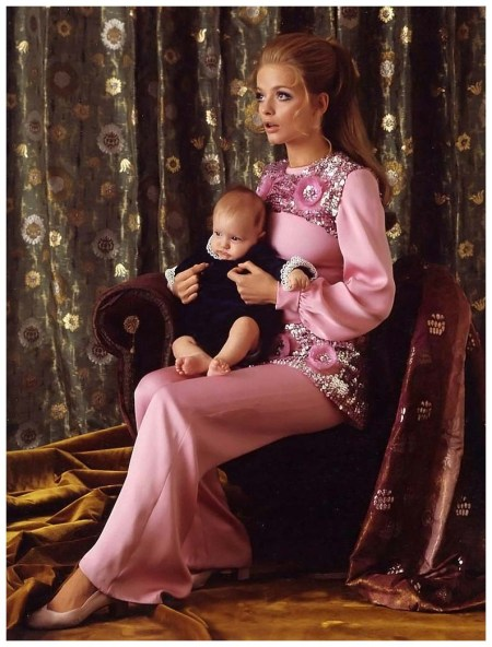 Swedish actress Ewa Aulin, photo by Pierluigi Praturlon Rome 1968