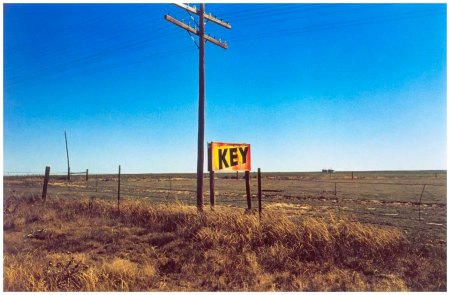 Untitled, (KEY SIGN) From lost and found 1971-74