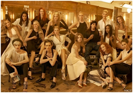VOGUE US May 2009 Photo Steven Meisel2