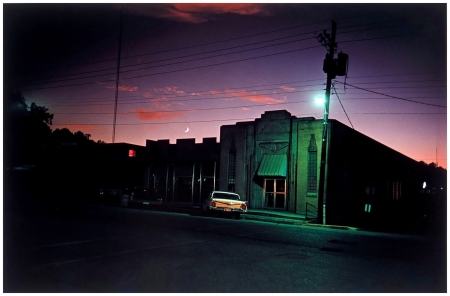 "William Eggleston_Untitled (Downtown Morton, Mississippi),"" ca. 1970"