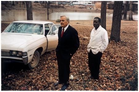 """William Eggleston_Untitled (Sumner, Mississippi, Cassidy Bayou in Background),"""" 1971"""