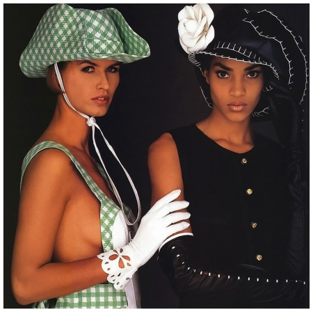 Beverly Peele Photo Gilles Bensimon for Thierry Mugler Elle (US) February 1991