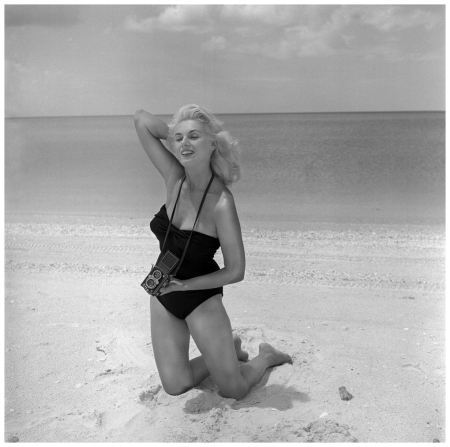 Bunny Yeager was a photographer at a time when men dominated that profession, but the model turned pin-up photographer used that to her advantage when photographing women in the 1950s and '60s