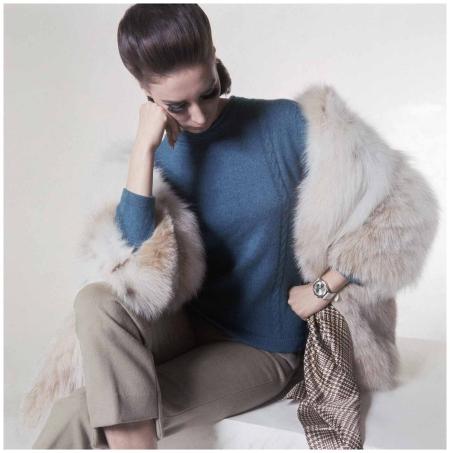 Fur and cashmere circa 1965 - PhotoHorst P. Horst