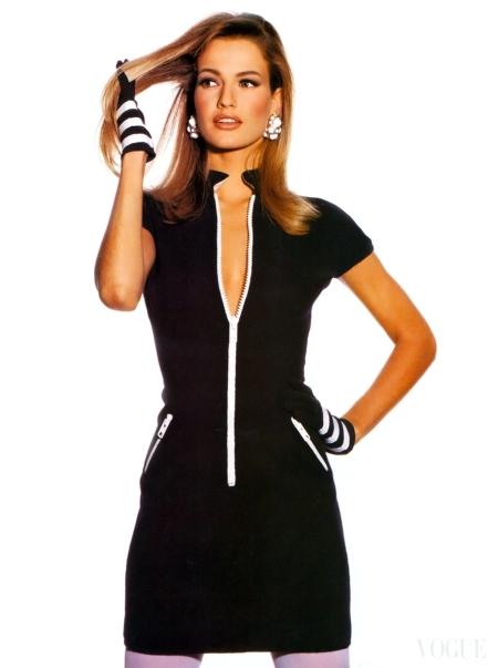 Karen Mulder Irving Penn Vogue US April 1991 a