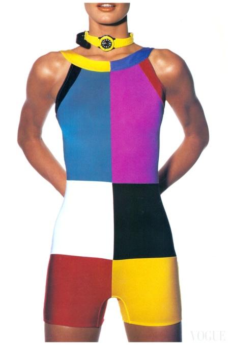 Karen Mulder Irving Penn Vogue US April 1991