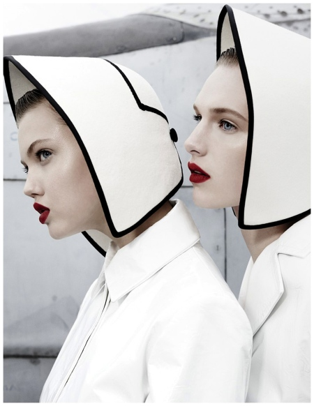 Lindsey Wixson & Ashleigh Good by Emma Summerton | November 2013