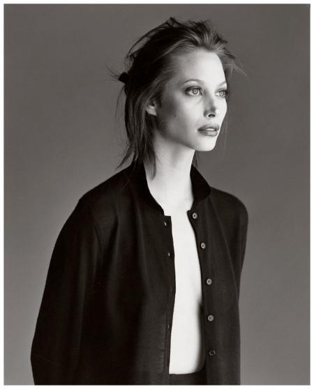 Photo Gilles Bensimon Christy Turlington Elle US March 1996 Models are Actresses