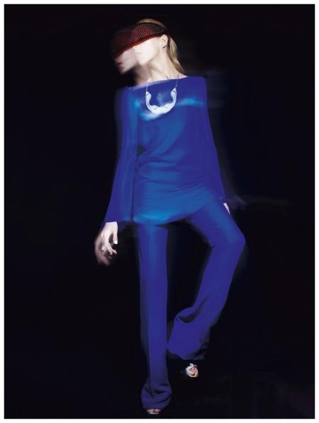Anja Rubik by Jan Welters for Elle UK February 2013
