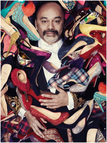Christian Louboutin in New York, May 2012 Robbie Fimmano