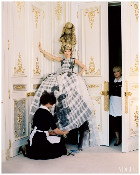 Kate Moss Vogue, April 2012 Photo Tim Walker
