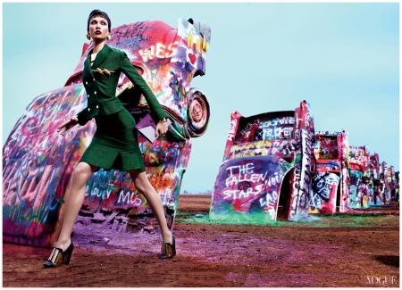 Mario Sorrenti, Vogue, March 2012 Karlie Kloss