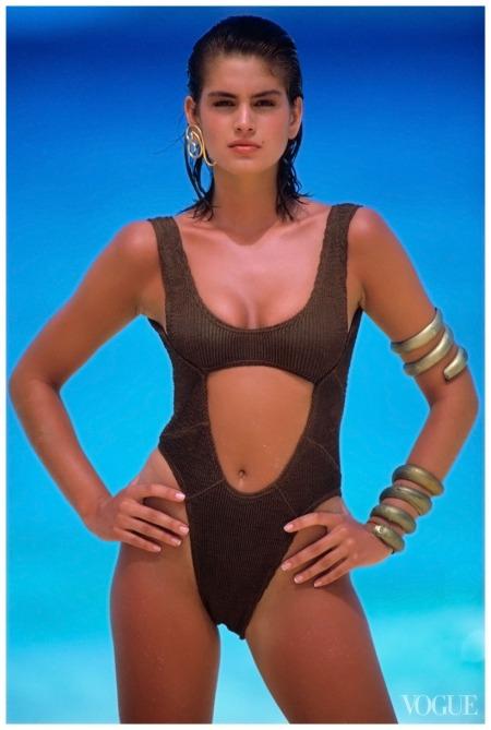 Cindy Crawford Wayne Maser, Vogue, May 1, 1986 c