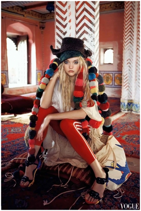 Gemma Ward Vogue - 2007 - September - Photo Patrick Demarchelier