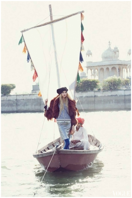 Gemma Ward Vogue 2007 September Photo Patrick Demarchelier