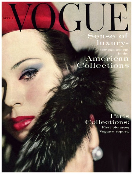 Vogue Cover Sept 1959 Photo Karen Radkai