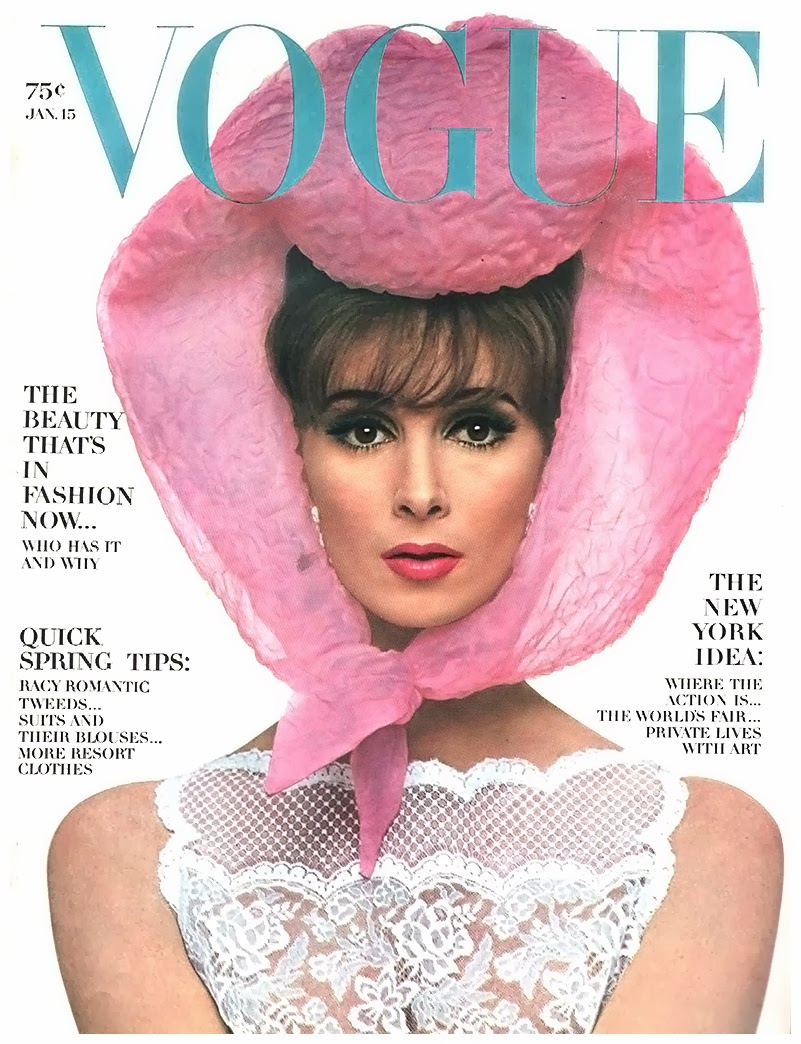 Wilhelmina Cooper Vogue Jan 1964