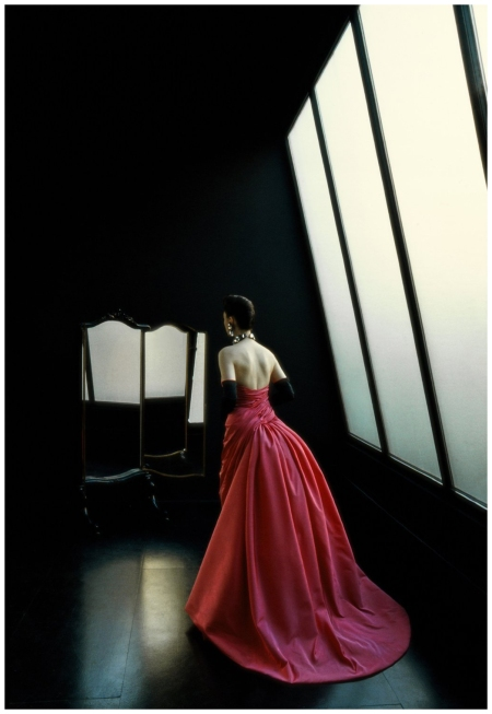For L'Officiel (Evening Dress From Back), 1989