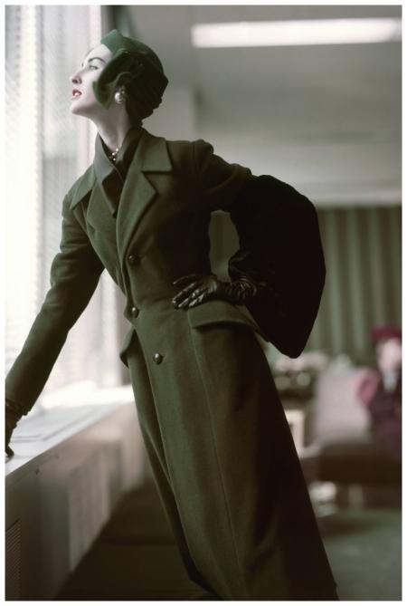 Model in Christian Dior  1952 Horst P. Horst