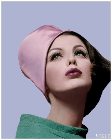 Vogue Cover Mar 1962 Photo Bert Stern b