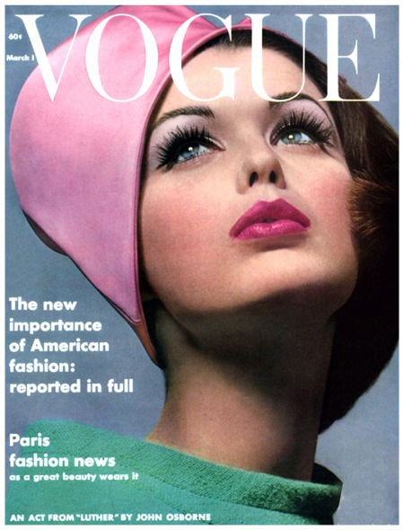 Vogue Cover Mar 1962 Photo Bert Stern