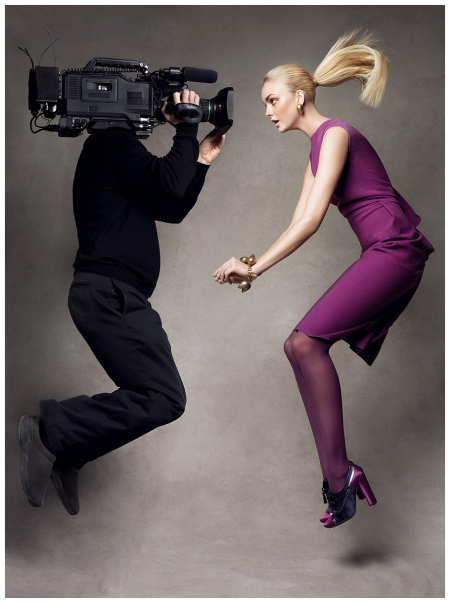 Caroline Trentini Patrick Demarchelier, Vogue, September 2007