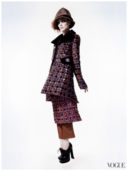 David Sims, Vogue, July 2012 Kati Nescher b