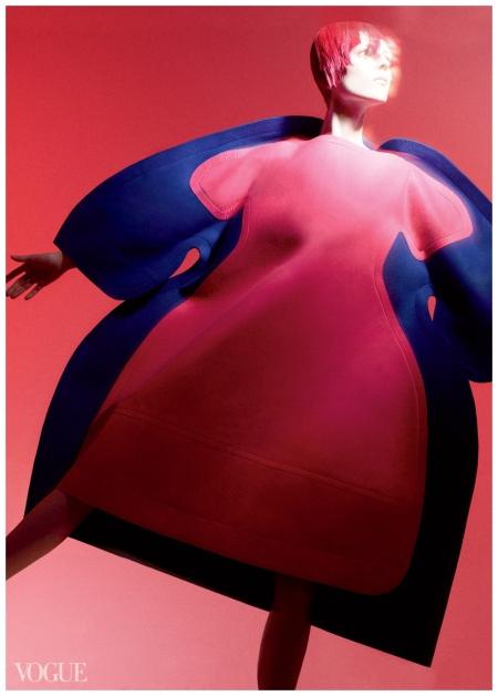 David Sims, Vogue, July 2012 Kati Nescher