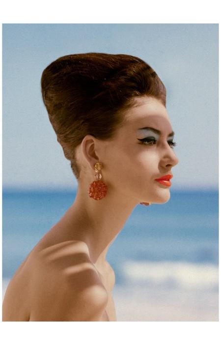 Katherine Pastrie %22The Modern Nefertiti%22 Vogue USA (abril 1960) Photo Leombruno-Bodi
