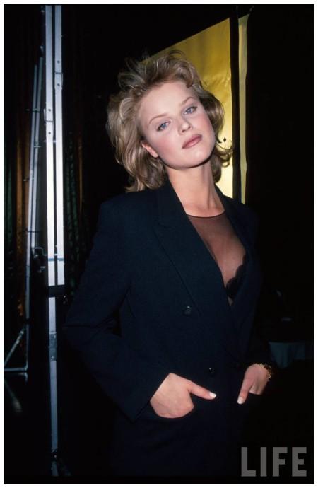 Model Eva Herzigova. 1995 Dave Allocca