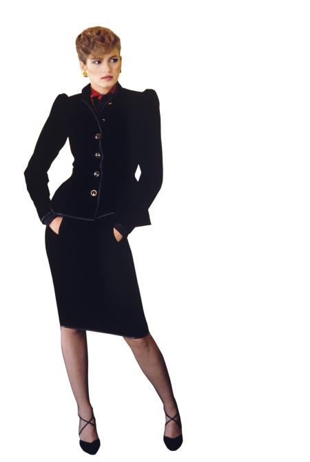 Gia Carangi in Givenchy