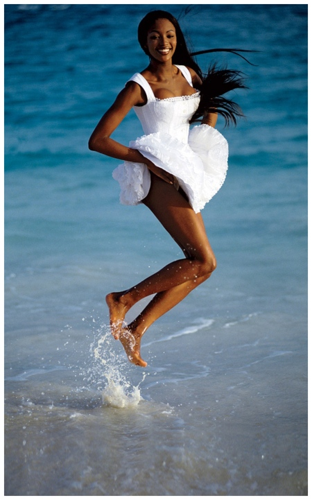 Naomi Campbell Patrick Demarchelier, Vogue, May 1992