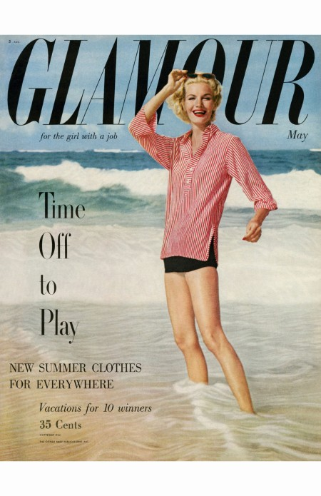 Sunny Harnett Glamour May 1954 Photo Leombruno-Bodi cover