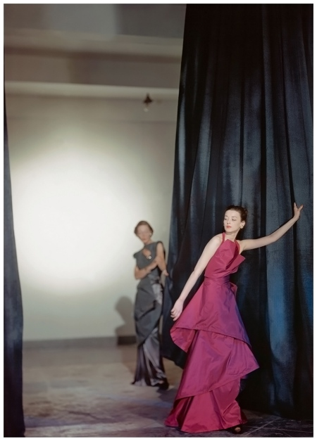 Charles James - vogue  Photo Cecil Beaton, Vogue, July 1946