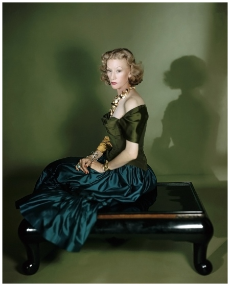 Millicent Rogers Photo Horst P. Horst, Vogue, February 1, 1949