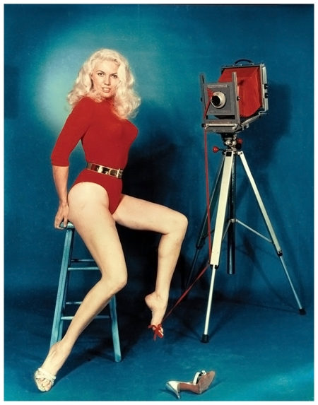 Bunny Yeager Self Portrait, 1960s