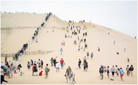 Dune du Pyla, 2010 Bassin d'Arcachon Aquitanie Photo Massimo Vitali