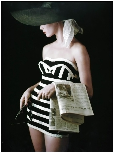 Milton Greene Model jean Patchett - 1953