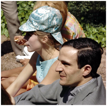 Cannes, director, filmmaker Francois Truffaut at the Film Festival, Nouvelle 1960's