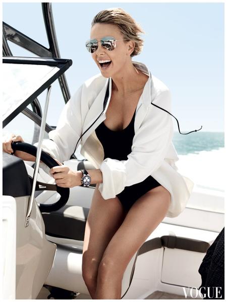 Charlize Theron Photo Mario Testino, Vogue, June 2014