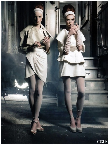 Hanne Gaby and Olga Sherer photo Greg Lotus 2007