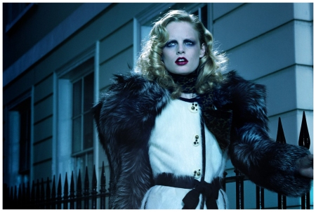 Hanne Gaby Odiele Photographed by Miles Aldridge for Numéro August 2009