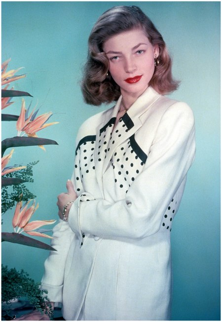 Lauren Bacall, circa 1955. (Photo by Getty Images)