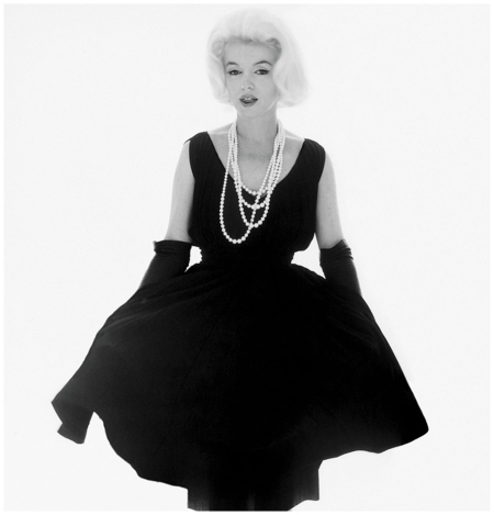 Marilyn Monroe, wearing Dior, at her last photo session with Bert Stern in 1962 Photo Bert Stern