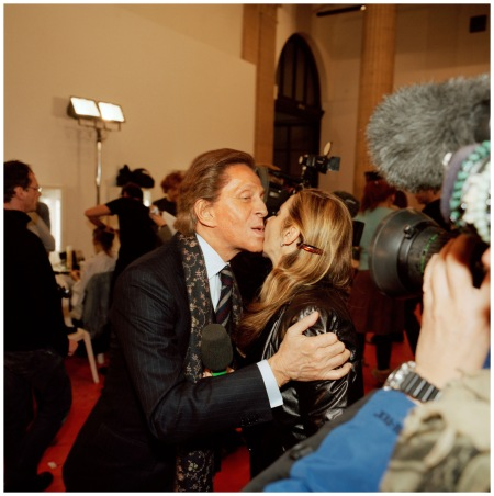 Valentino Garavani at Haute Couture, Paris, France, 2005, from Fashion Magazine