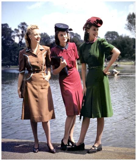 1940 S Fashion The Dresses Got Shorter Pleasurephoto