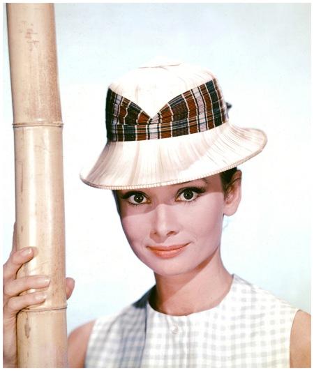 Audrey Hepburn 1961, photograph by Bud Fraker.