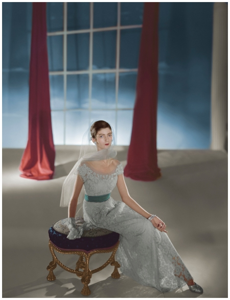 'After' Dress by Hattie Carnegie, modelled by Carmen Dell'Orefice © Condé Nast Photo Horst P.Horst