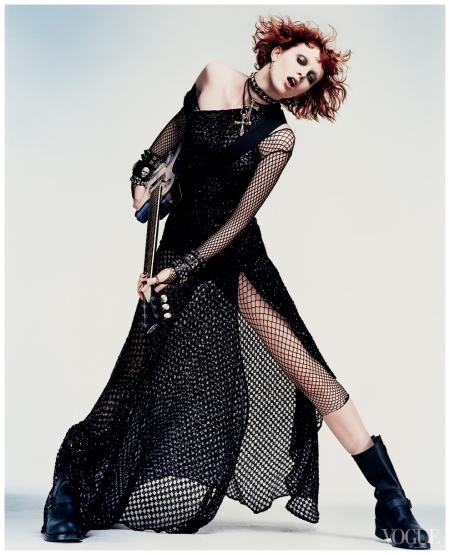 Karen Elson Photo Craig McDean, Vogue, November 2002